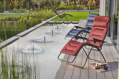 Kényelmes nyugágy - erkély / terasz ötlet, modern stílusban