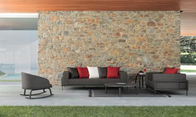 Pihenő a teraszon - erkély / terasz ötlet, modern stílusban