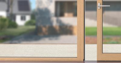 Hőszigetelt ablak - nappali ötlet, modern stílusban