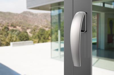 Ergonomikus ablak kilincs - nappali ötlet, modern stílusban