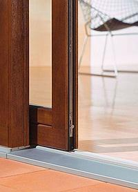 Emelő-toló teraszajtó vasalat - erkély / terasz ötlet, modern stílusban