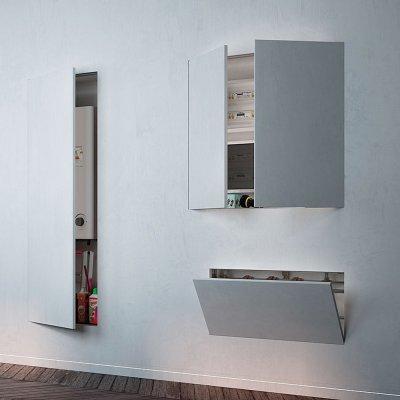 Eclisse Syntesis Tech - revíziós ajtó, strang ajtó - garázs ötlet, modern stílusban