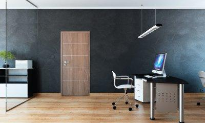 Pascal Discovery modell 4 beltéri ajtó - dolgozószoba ötlet