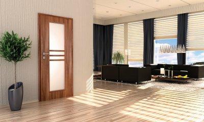Pascal Demeter modell 2 beltéri ajtó - nappali ötlet