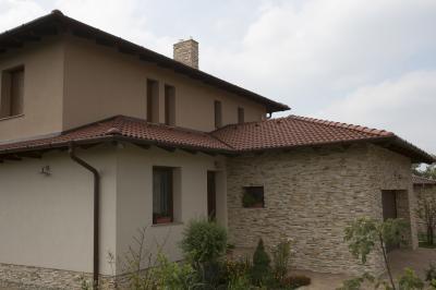 Beton tetőcserép mediterrán stílusban - tető ötlet, mediterrán stílusban
