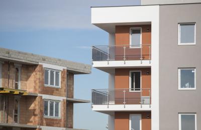 Tégla épület - homlokzat ötlet, modern stílusban