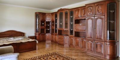 Klasszikus hálószobabútor tölgyfából - háló ötlet, klasszikus stílusban