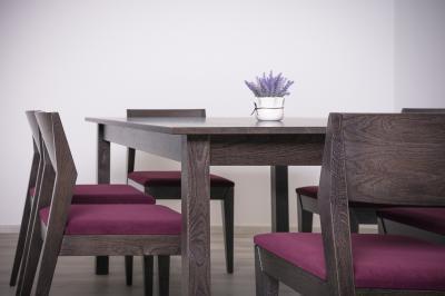 Tömörfa étkezőbútor - konyha / étkező ötlet, modern stílusban