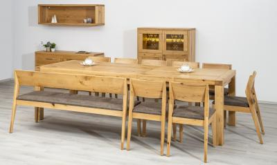 Tömörfa étkezőbútor - konyha / étkező ötlet