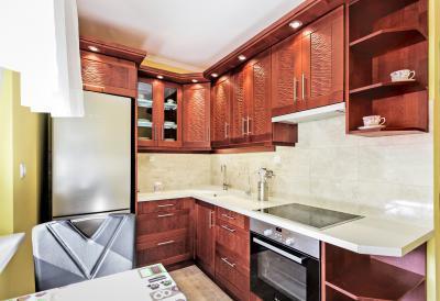 Elegáns konyhabútor - konyha / étkező ötlet, modern stílusban