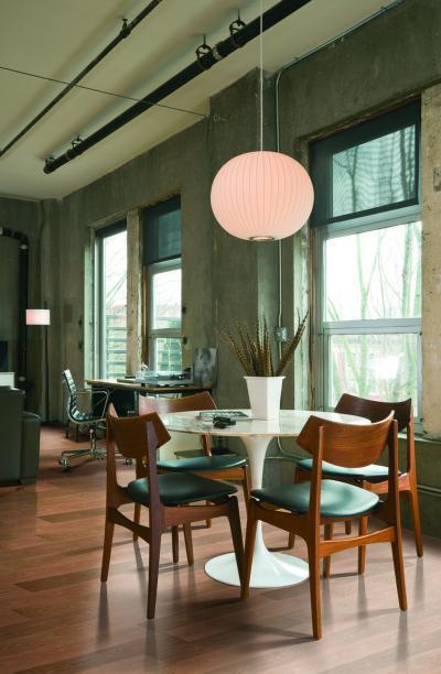 Készparketta a dolgozószobában - dolgozószoba ötlet, modern stílusban