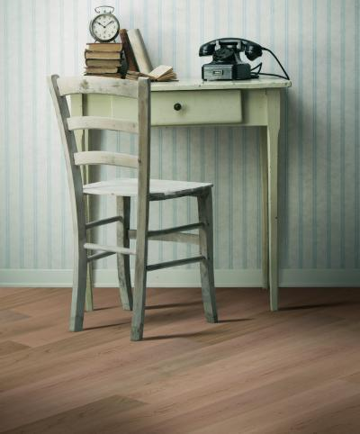 Rusztikus megjelenésű készparketta - nappali ötlet, rusztikus stílusban