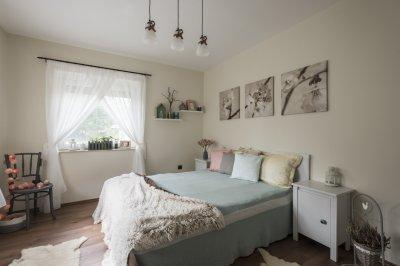 Hálószoba IKEA - háló ötlet, modern stílusban