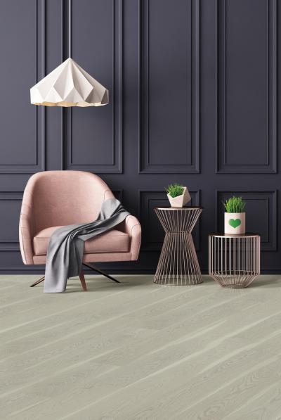 Világos színű készparketta - nappali ötlet, modern stílusban