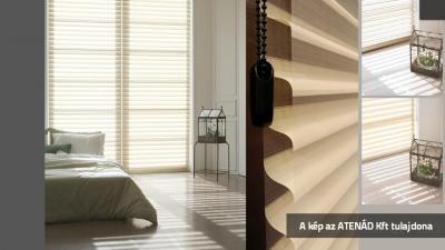 Firenzei roló a hálószobában - háló ötlet, modern stílusban