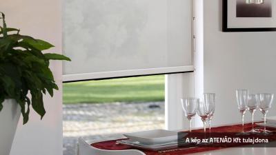 Roletta az étkezőben - konyha / étkező ötlet, modern stílusban