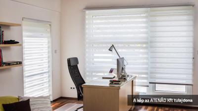 Sávroló a dolgozószobában - dolgozószoba ötlet, modern stílusban