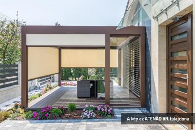 Fixscreen teraszárnyékoló - erkély / terasz ötlet, modern stílusban