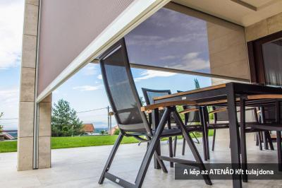 Fixscreen árnyékoló a teraszon - erkély / terasz ötlet, modern stílusban