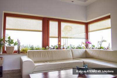 Nappali Fixscreen árnyékolóval - nappali ötlet, modern stílusban
