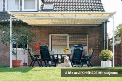 Télikert árnyékoló - erkély / terasz ötlet