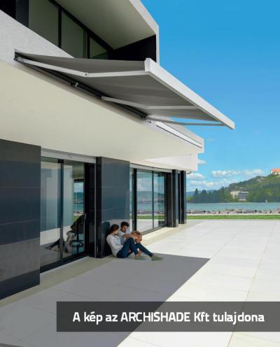 Tokozott napellenző - erkély / terasz ötlet