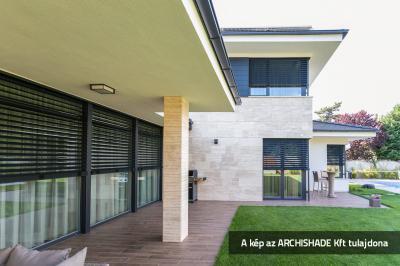 Öntartó zsaluzia - erkély / terasz ötlet, modern stílusban
