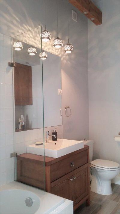 Lakásátalakítás a Palotanegyedben - Fürdőszoba - fürdő / WC ötlet