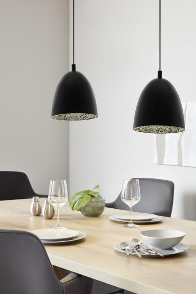 Függeszték az étkezőben - konyha / étkező ötlet, modern stílusban