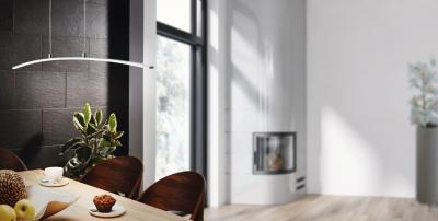 Króm függeszték - nappali ötlet, modern stílusban