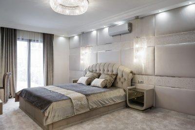 Hálószoba egyedi megjelenésben - háló ötlet