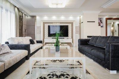 Luxury home interior - nappali ötlet, klasszikus stílusban