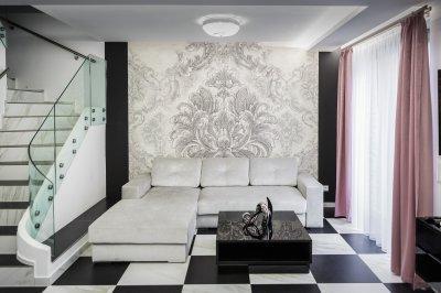 Luxus a nappaliban - nappali ötlet, modern stílusban