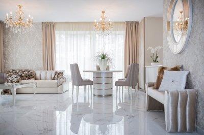 Elegáns nappali - nappali ötlet, klasszikus stílusban