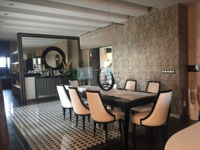 Ház - konyha / étkező ötlet, modern stílusban