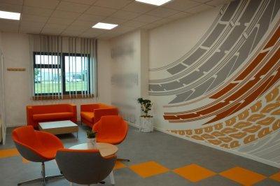 Ügyfélváró - dolgozószoba ötlet, modern stílusban