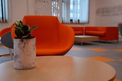 Ügyfélváró 2 - dolgozószoba ötlet, modern stílusban