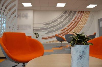Ügyfélváró 4 - dolgozószoba ötlet, modern stílusban