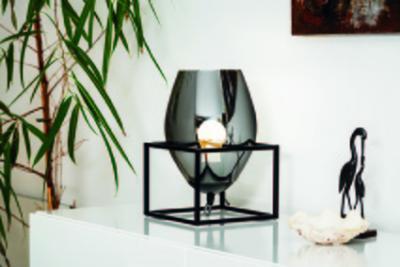 Asztali lámpa - nappali ötlet, modern stílusban