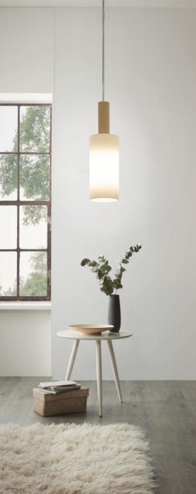 Függeszték a nappaliban - nappali ötlet, modern stílusban