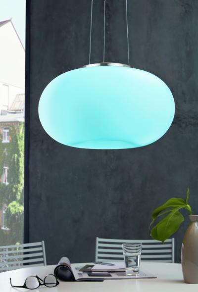 Üveg burás függeszték - konyha / étkező ötlet