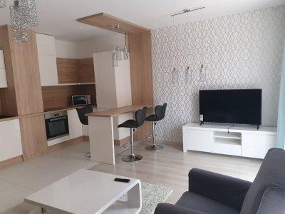 Egybenyitott nappali és konyha - konyha / étkező ötlet, modern stílusban