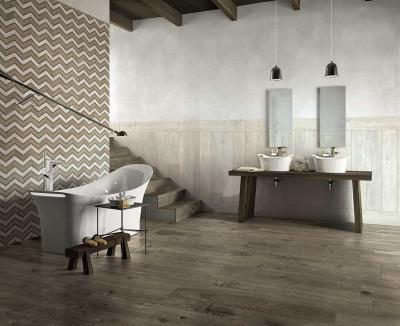Látványos hidegburkolat a fürdőben - fürdő / WC ötlet, modern stílusban