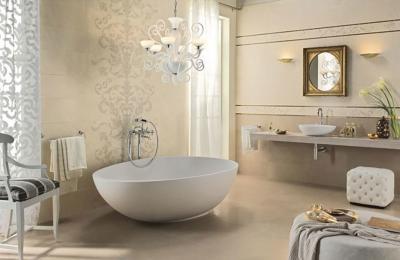 Glamúros fürdőszoba - fürdő / WC ötlet