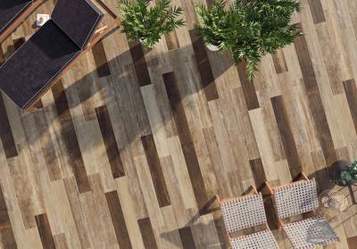 Fahatású járólapok - erkély / terasz ötlet, modern stílusban