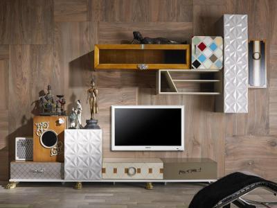Egy csipet India - nappali ötlet, modern stílusban