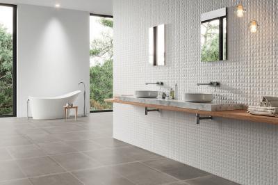 Mozaikcsempe a fürdőben - fürdő / WC ötlet