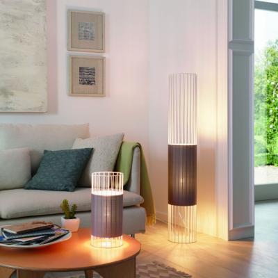 Asztali és állólámpa - nappali ötlet, modern stílusban