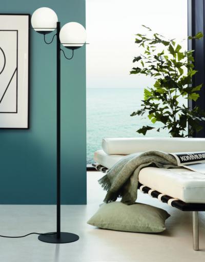 Klasszikus állólámpa - nappali ötlet