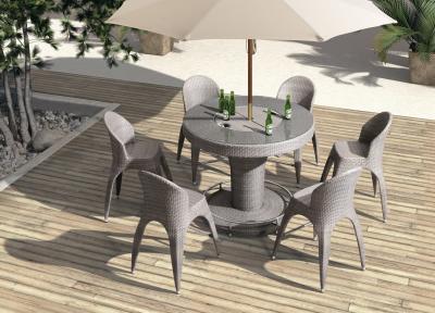 Szürke kerti bútorok - erkély / terasz ötlet, modern stílusban
